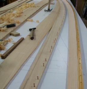 Planken aus Lärche